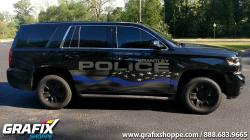 Brantley PD AL Blue Line Flag Tahoe Graphics