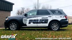 Ironwood PD MI Durango Graphics