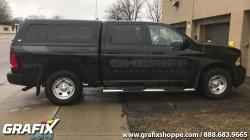 McLeod County Sheriff STEALTH pickup truck wrap