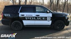 Menahga Police Department Tahoe