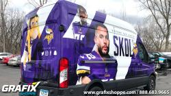 Minnesota Vikings Sprinter Wrap