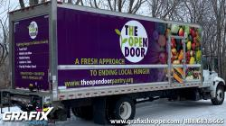 The Open Door Pantry Box Truck