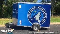 Timberwolves Trailer Wrap