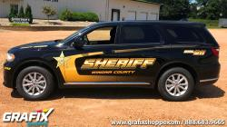 Winona Co Sheriff MN Durango Graphics